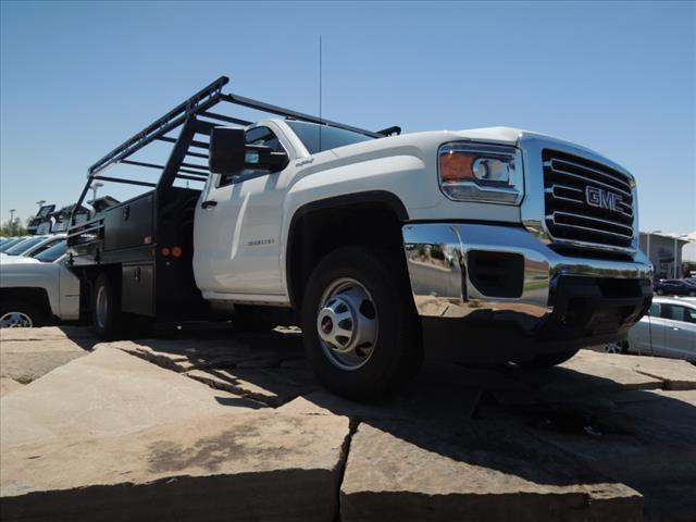 2019 GMC Sierra 3500 Regular Cab DRW 4x4, Freedom Contractor Body #KT524 - photo 1