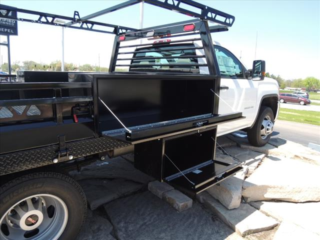 2019 GMC Sierra 3500 Regular Cab DRW 4x4, Freedom Contractor Body #KT524 - photo 11