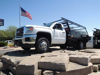 2019 GMC Sierra 3500 Regular Cab DRW 4x4, Freedom Contractor Body #KT524 - photo 3