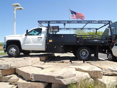 2019 GMC Sierra 3500 Regular Cab DRW 4x4, Freedom Contractor Body #KT524 - photo 4