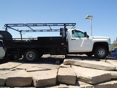 2019 GMC Sierra 3500 Regular Cab DRW 4x4, Freedom Contractor Body #KT524 - photo 8