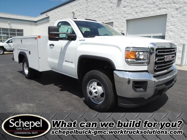 2019 GMC Sierra 3500 Regular Cab DRW 4x4, Monroe Service Body #KT5X124 - photo 1
