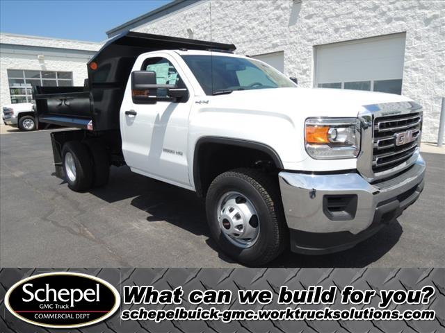 2019 Sierra 3500 Regular Cab DRW 4x4,  Dump Body #KT614 - photo 1