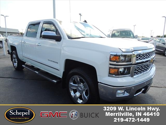 2015 Silverado 1500 Crew Cab 4x4,  Pickup #KT8X109A - photo 1