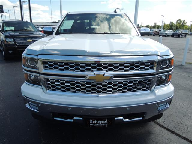 2015 Silverado 1500 Crew Cab 4x4,  Pickup #KT8X109A - photo 3