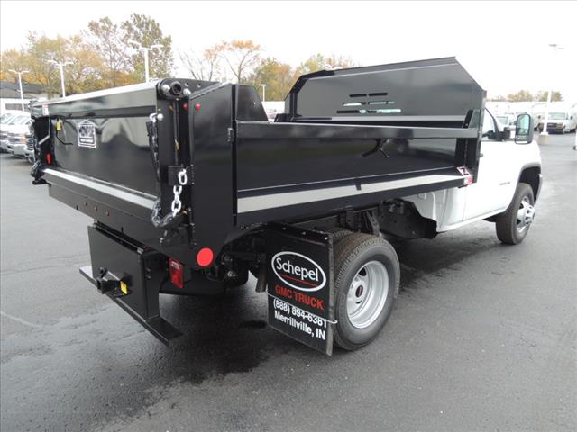 2019 Sierra 3500 Regular Cab DRW 4x2,  Monroe Dump Body #KT964 - photo 1