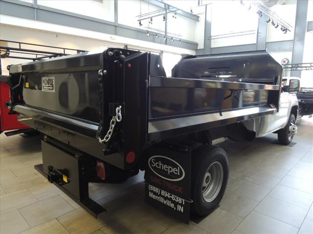 2019 Sierra 3500 Regular Cab DRW 4x2,  Monroe Dump Body #KT9X135 - photo 1