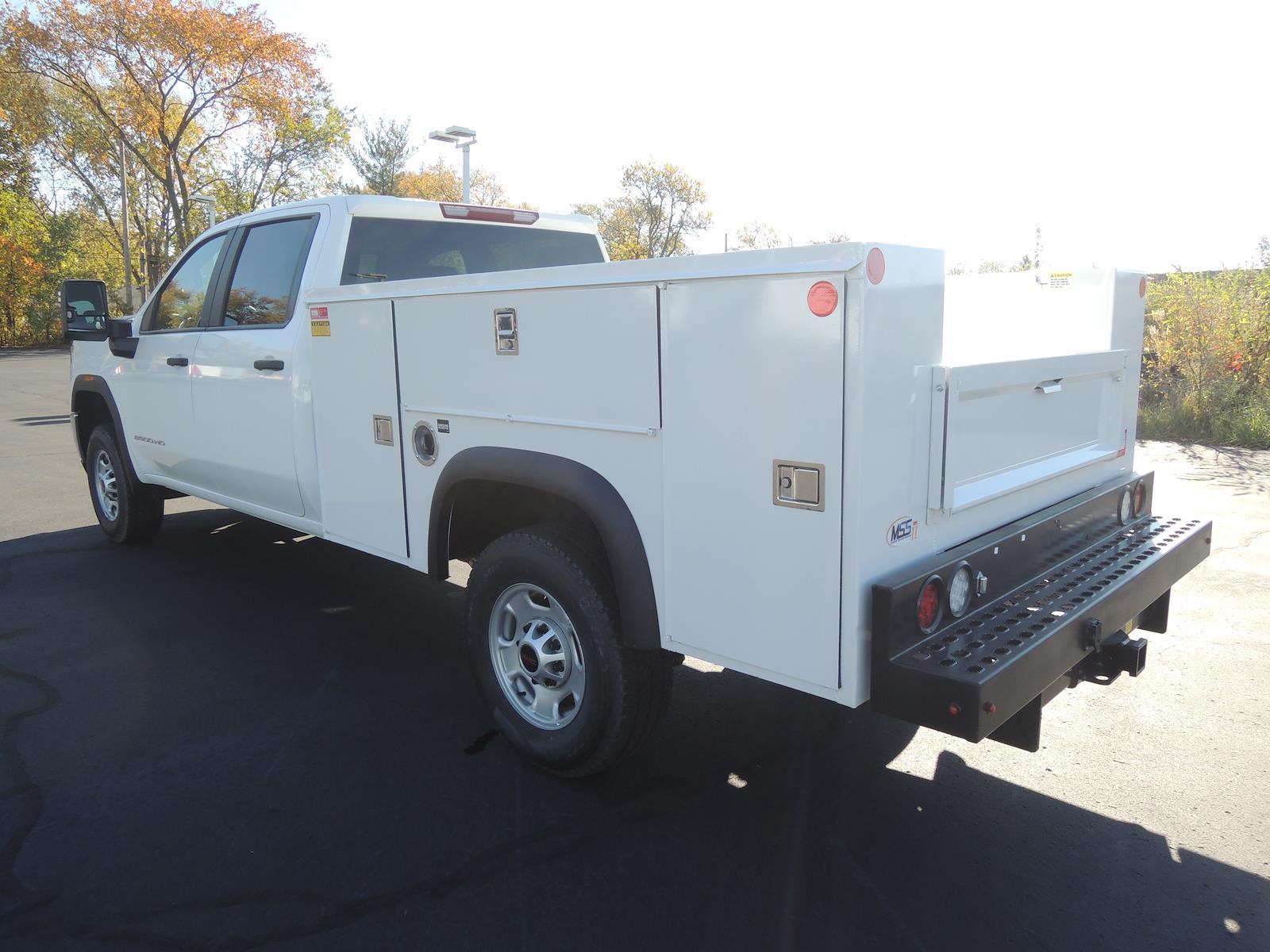 2020 GMC Sierra 2500 Crew Cab 4x2, Monroe MSS II Service Body #LT10X131 - photo 5