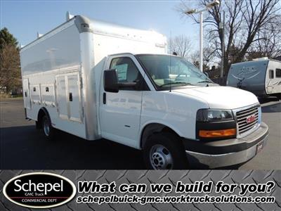 2020 Savana 3500 4x2, Rockport Workport Service Utility Van #LT359 - photo 1