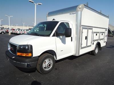 2020 Savana 3500 4x2, Rockport Workport Service Utility Van #LT359 - photo 4