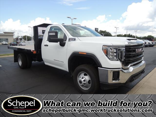 2020 GMC Sierra 3500 Regular Cab RWD, Monroe Platform Body #LT701 - photo 1