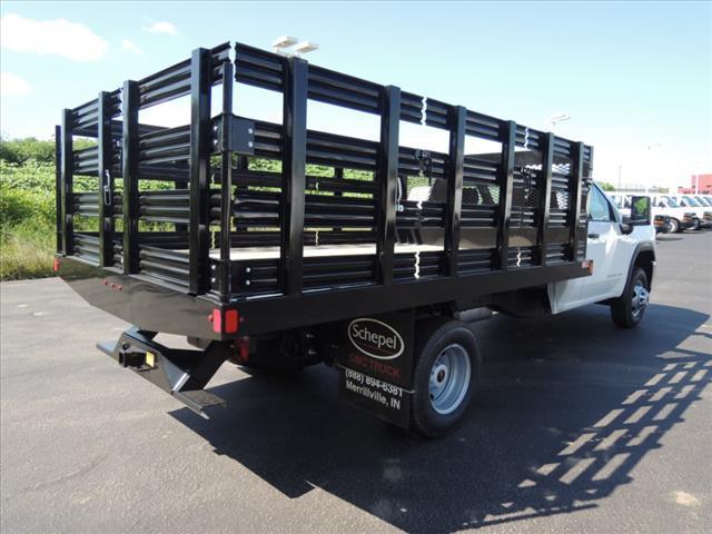 2020 GMC Sierra 3500 Regular Cab RWD, Monroe Stake Bed #LT702 - photo 1