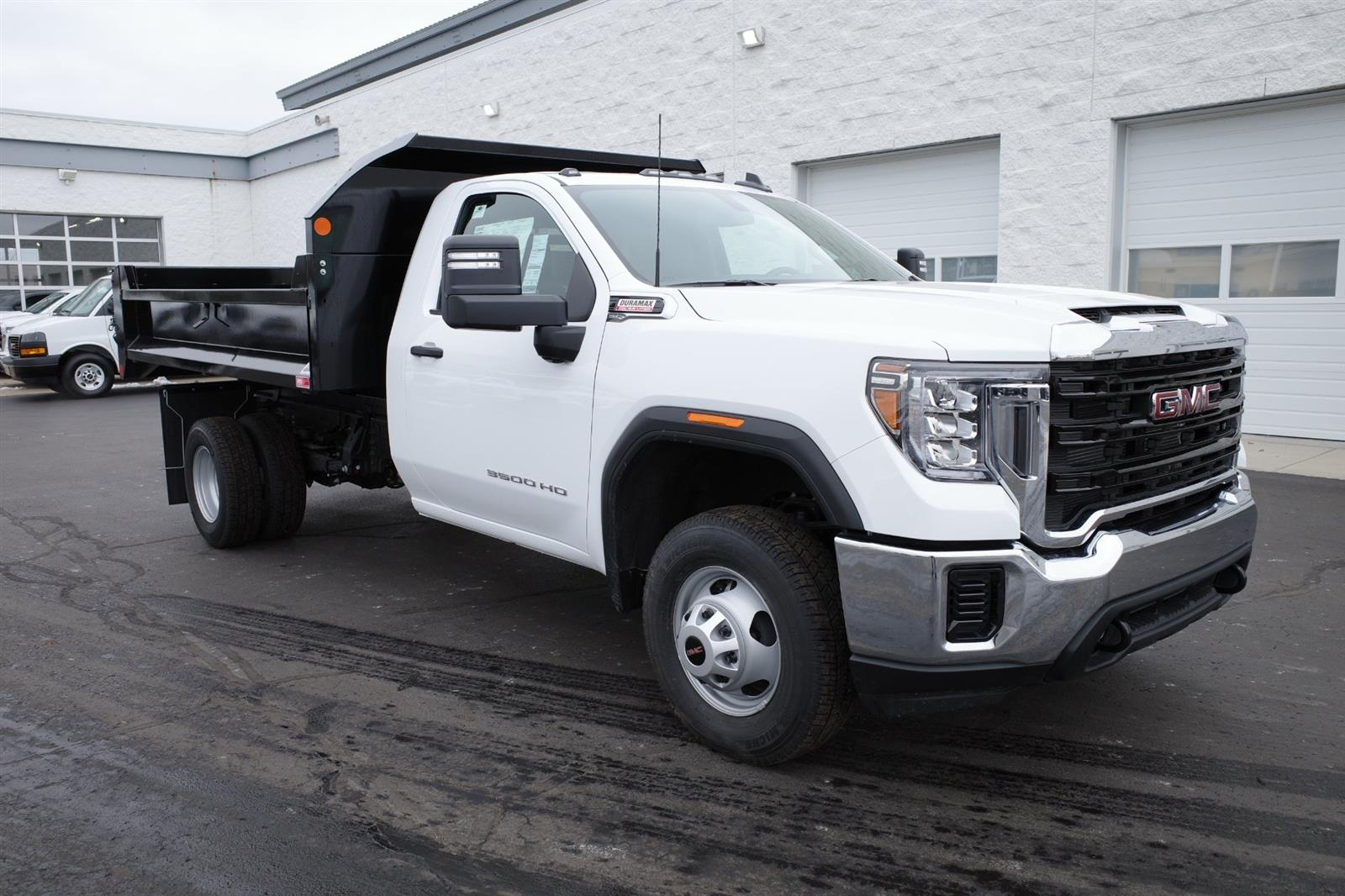 2020 GMC Sierra 3500 Regular Cab 4x4, Monroe Dump Body #LTT119 - photo 1