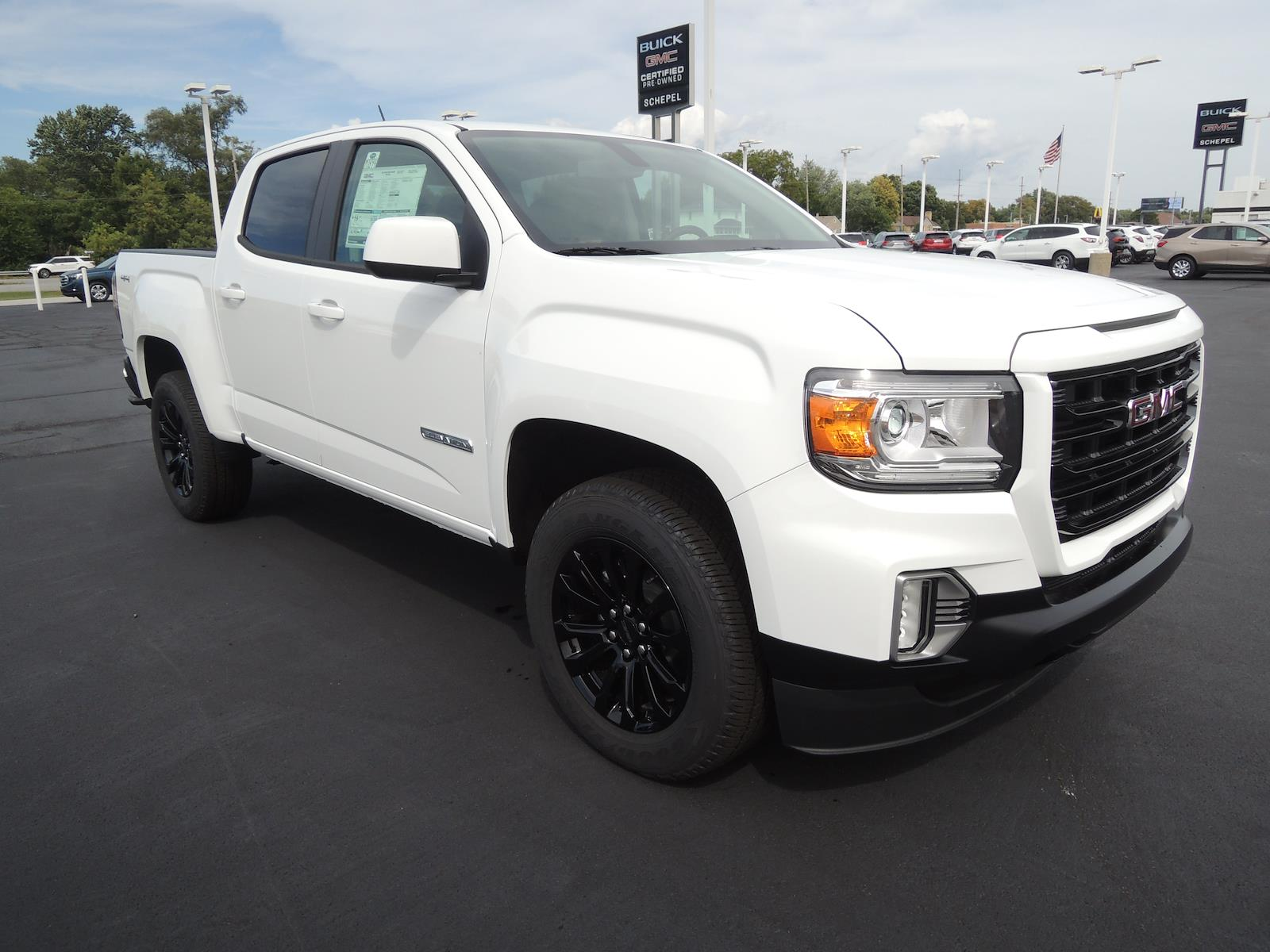 2021 GMC Canyon Crew Cab 4x4, Pickup #MT194 - photo 1