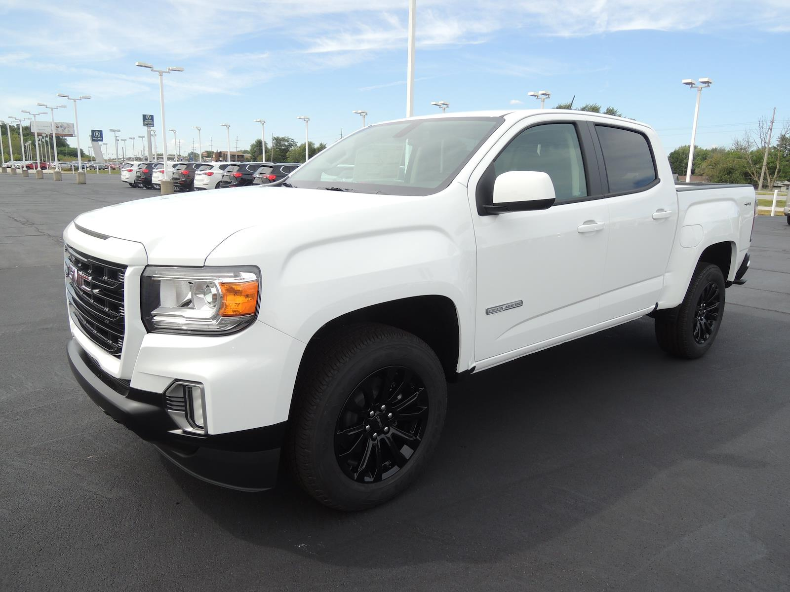 2021 GMC Canyon Crew Cab 4x4, Pickup #MT194 - photo 3