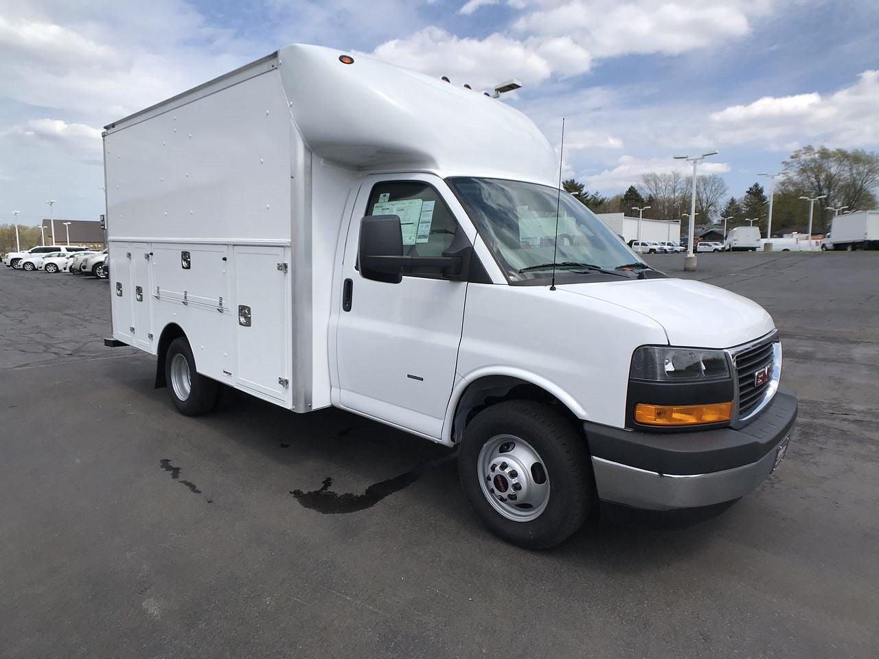 2021 GMC Savana 3500 4x2, Supreme Spartan Service Utility Van #MT469 - photo 1