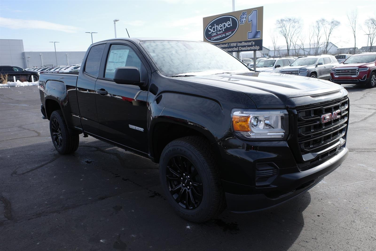 2021 GMC Canyon Extended Cab 4x2, Pickup #MT835 - photo 1