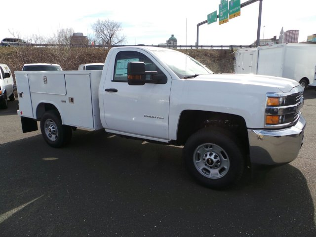 2017 Silverado 2500 Regular Cab 4x4, Service Body #C214882 - photo 3