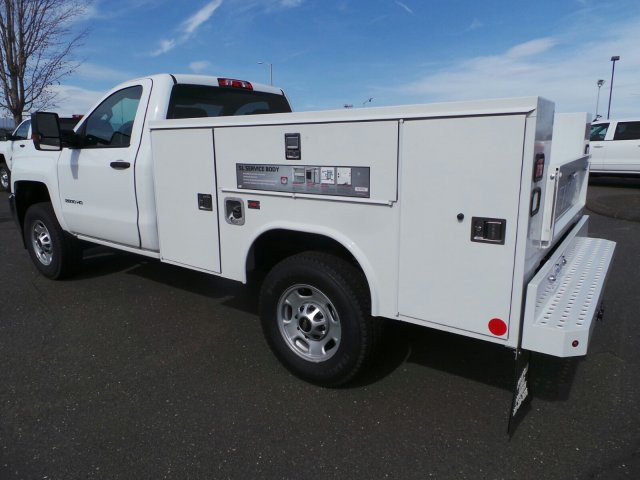 2017 Silverado 2500 Regular Cab 4x4, Service Body #C214882 - photo 2