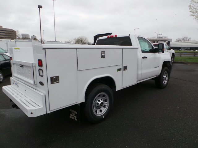 2017 Silverado 3500 Regular Cab 4x4, Service Body #C256247 - photo 8