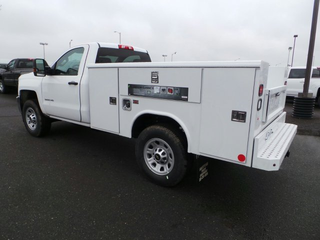 2017 Silverado 3500 Regular Cab 4x4, Service Body #C256247 - photo 2