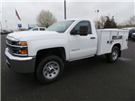 2017 Silverado 3500 Regular Cab 4x4, Service Body #C256247 - photo 1