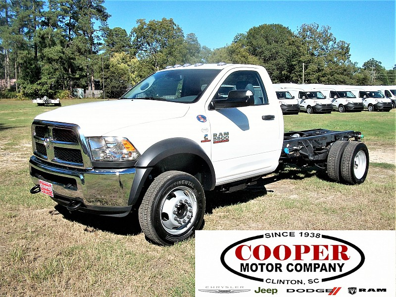 2018 Ram 5500 Regular Cab DRW Cab Chassis #122506 - photo 1