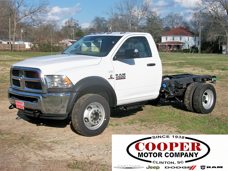 2018 Ram 4500 Regular Cab DRW 4x2,  Cab Chassis #164509 - photo 1