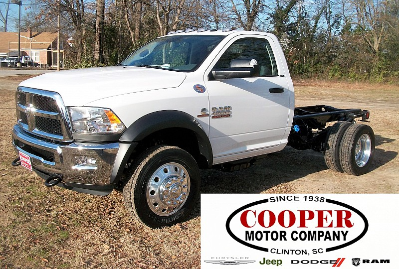 2017 Ram 4500 Regular Cab DRW Cab Chassis #572438 - photo 1