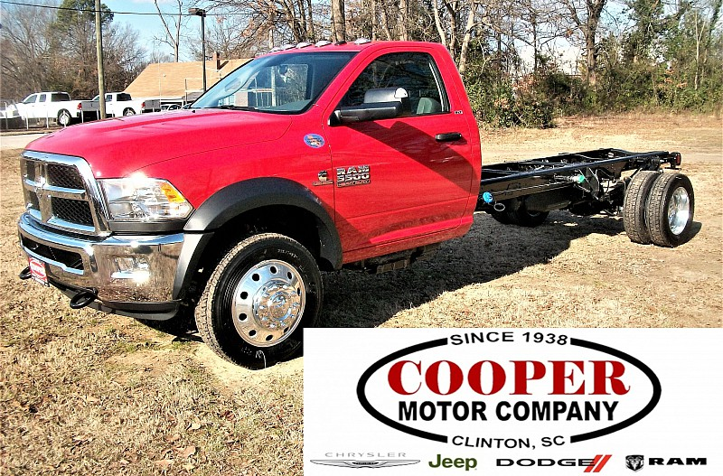 2017 Ram 5500 Regular Cab DRW 4x2,  Cab Chassis #622152 - photo 1
