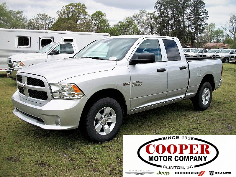 2017 Ram 1500 Quad Cab 4x4, Pickup #665807 - photo 1