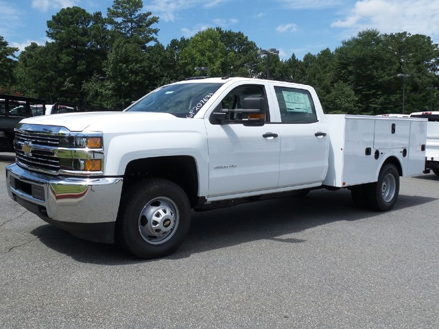 2016 Silverado 3500 Crew Cab 4x4, Commercial Truck & Van Equipment Service Body #1161155 - photo 3