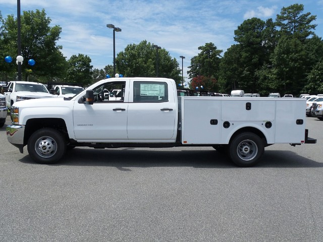 2016 Silverado 3500 Crew Cab 4x4, Commercial Truck & Van Equipment Service Body #1161155 - photo 4