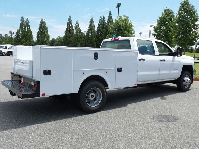 2016 Silverado 3500 Crew Cab 4x4, Commercial Truck & Van Equipment Service Body #1161155 - photo 2