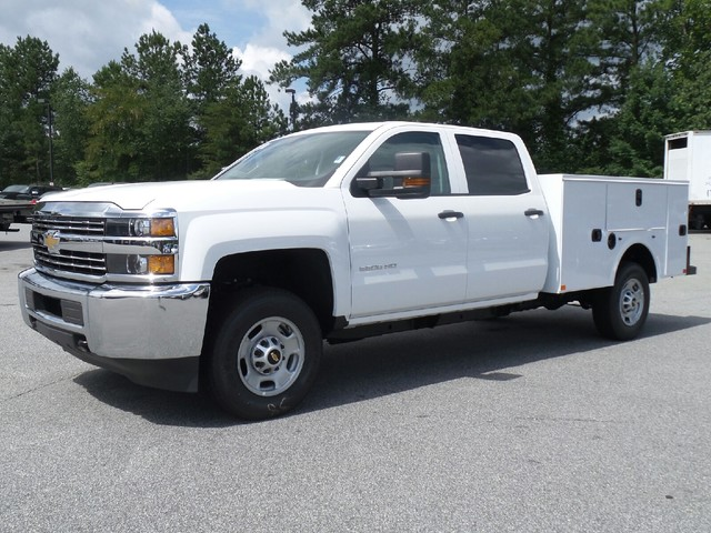 2016 Silverado 2500 Crew Cab, Commercial Truck & Van Equipment Service Body #1161173 - photo 3