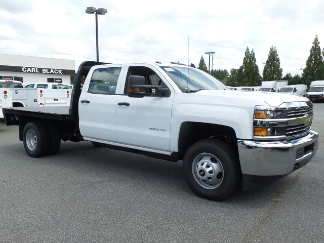 2016 Silverado 3500 Crew Cab 4x4, Knapheide Platform Body #1161334 - photo 12