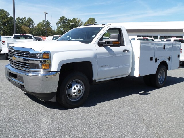 2016 Silverado 3500 Regular Cab, Commercial Truck & Van Equipment Service Body #1161468 - photo 3