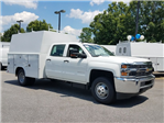 2016 Silverado 3500 Crew Cab 4x4, Reading Service Utility Van #1170262 - photo 1