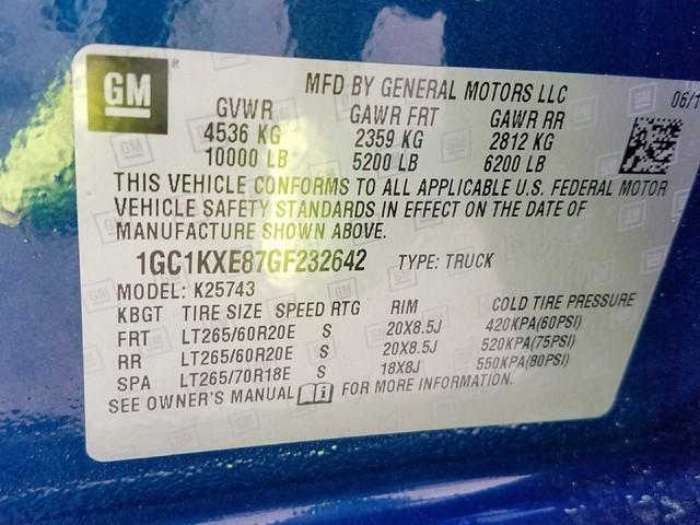 2016 Silverado 2500 Crew Cab 4x4, Pickup #1170498A - photo 17