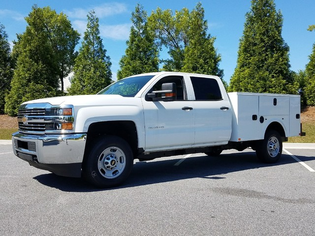 2017 Silverado 2500 Crew Cab, Service Body #1170667 - photo 3