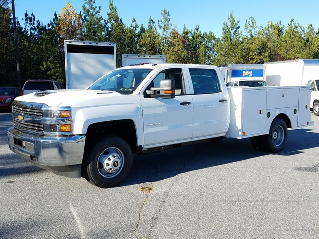 2017 Silverado 3500 Crew Cab DRW, Warner Service Body #1171412 - photo 1