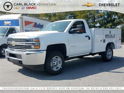 2017 Silverado 2500 Regular Cab 4x2,  Reading Classic II Steel Service Body #1171435 - photo 1
