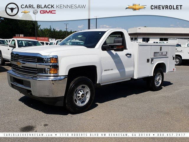 2017 Silverado 2500 Regular Cab 4x4,  Reading Classic II Steel Service Body #1171436 - photo 1