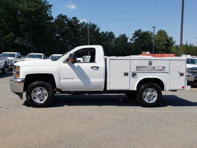 2017 Silverado 2500 Regular Cab 4x4, Reading Classic II Steel Service Body #1171436 - photo 2