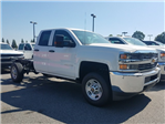 2017 Silverado 2500 Double Cab 4x4, Cab Chassis #1171438 - photo 1