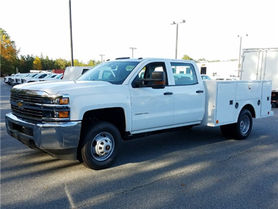 2017 Silverado 3500 Crew Cab DRW, Warner Service Body #1171476 - photo 1