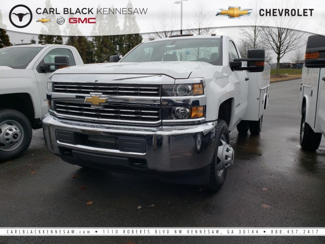 2017 Silverado 3500 Regular Cab DRW 4x4,  Reading Service Body #1171608 - photo 1