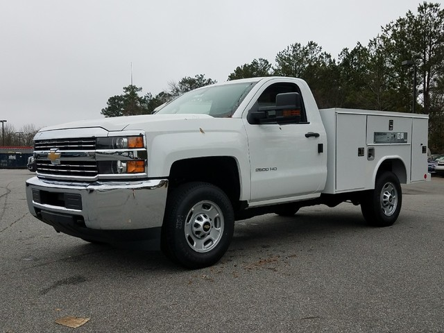2018 Silverado 2500 Regular Cab, Reading SL Service Body #1180096 - photo 1