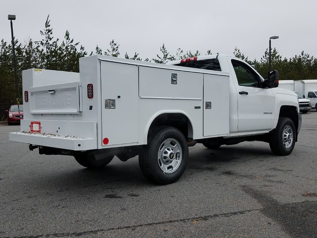2018 Silverado 2500 Regular Cab 4x2,  Reading SL Service Body #1180096 - photo 2