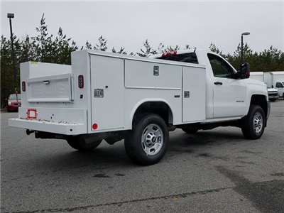 2018 Silverado 2500 Regular Cab, Reading SL Service Body #1180096 - photo 2